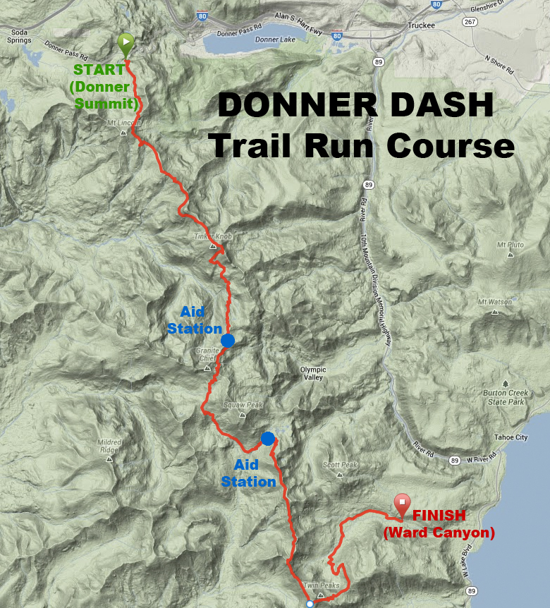Donner Dash course